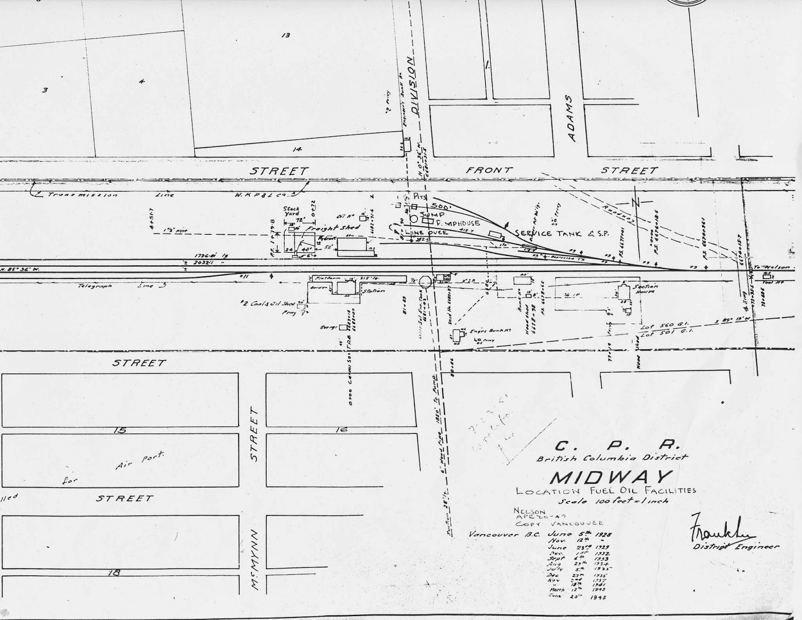 Kettle Valley Model Railway Midway Yard