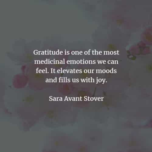 Gratitude quotes that inspire a feeling of thankfulness