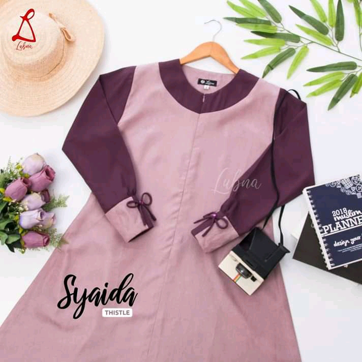 Syaida Thistle By Lubna Collection