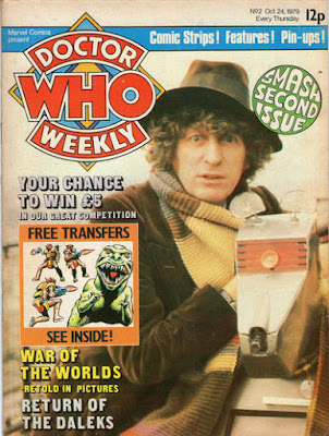 Doctor Who Weekly #2, Tom Baker and K9