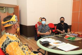 Audiensi Pimpinan Bank Rakyat Indonesia KC Tarakan