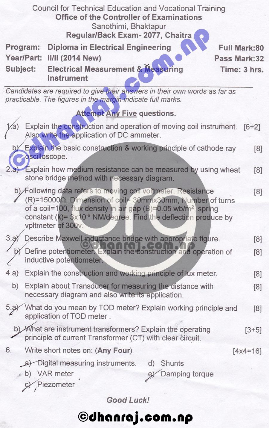 Electrical-Measurement-and-Measuring-Instrument-Question-Paper-2077-CTEVT-Diploma-2nd-Year-2nd-Part