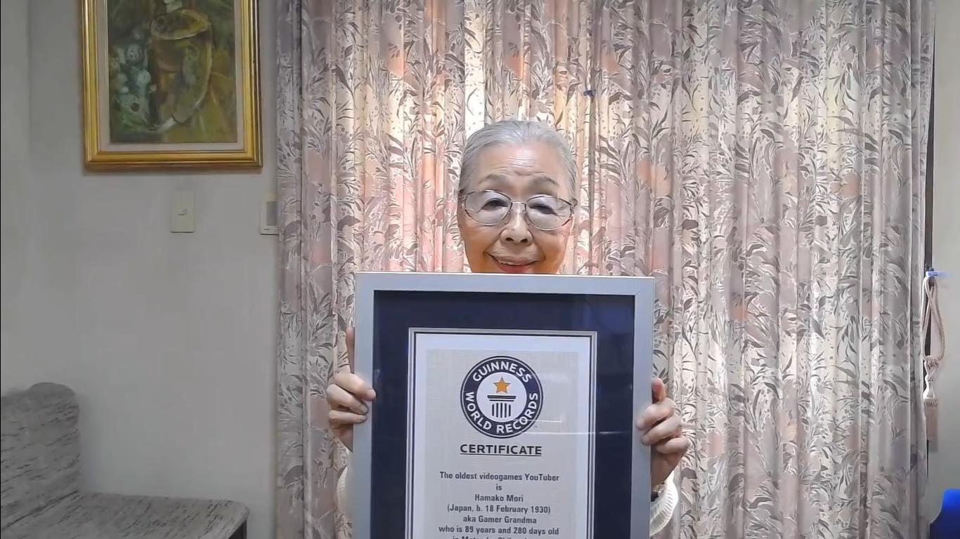 Dünyanın En Yaşlı Bilgisayar Oyuncusu Hamako Mori