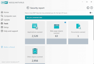 برنامج ESET NOD32 Antivirus