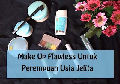 Make Up Flawless Yang Cocok Untuk Perempuan Usia 50 Tahun