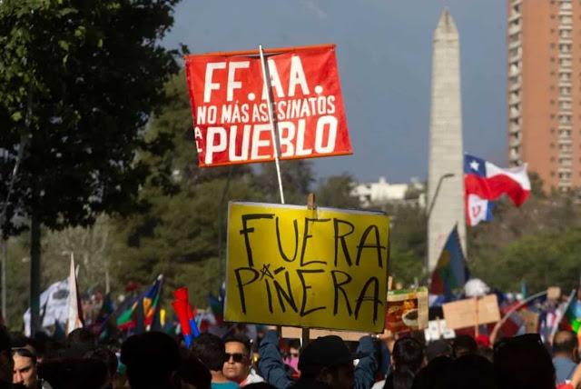 Masivas protestas en Chile