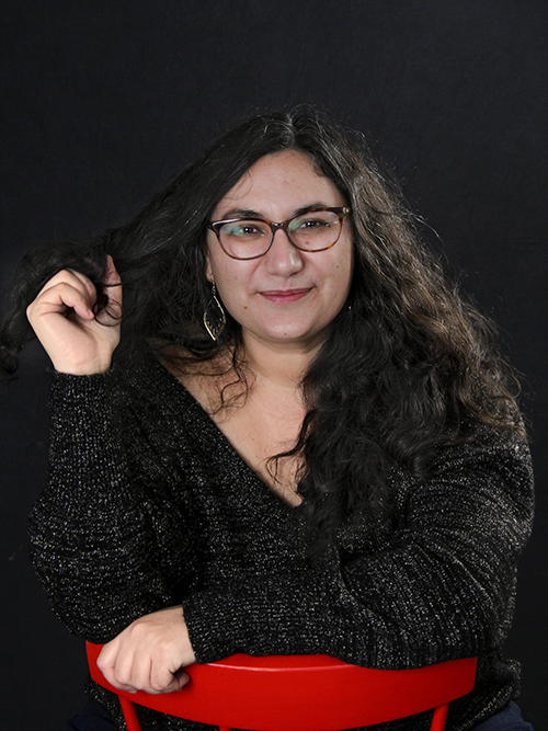 Gloria Fortún en el objetivo de Isabel Wagemann