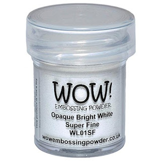 WOW! Super Fine Embossing Powder Opaque Bright White