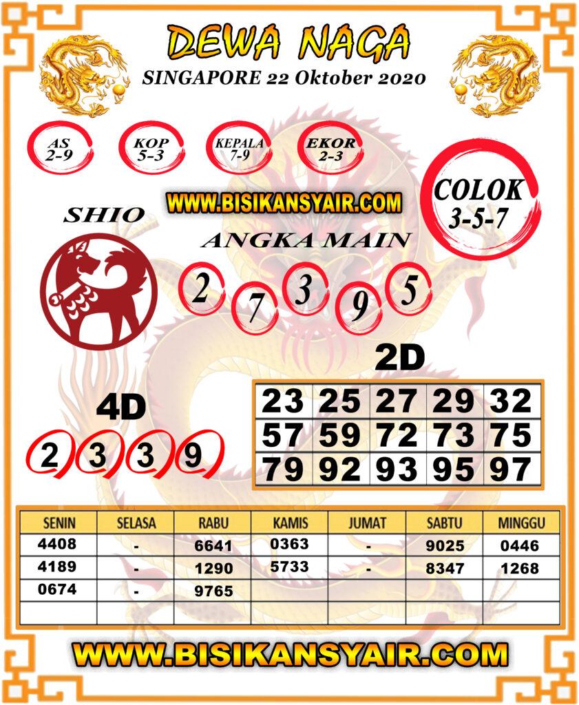 Kode syair Singapore Kamis 22 Oktober 2020 108