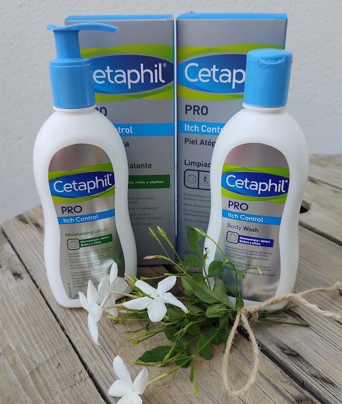 Nuevo Cetaphil® PRO Itch Control,  limpieza e hidratación de las pieles atópicas, muy secas y sensibles