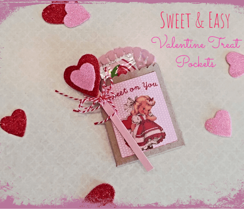 DIY Valentine Treat Pockets