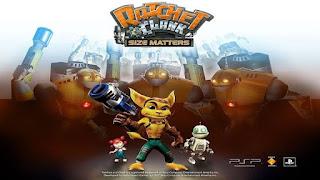 game psp terbaik Ratchet & Clank: Size Matters