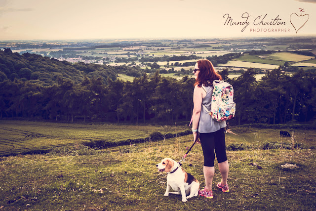 Mandy Charlton, travel blogger, yorkshire, roseberry topping