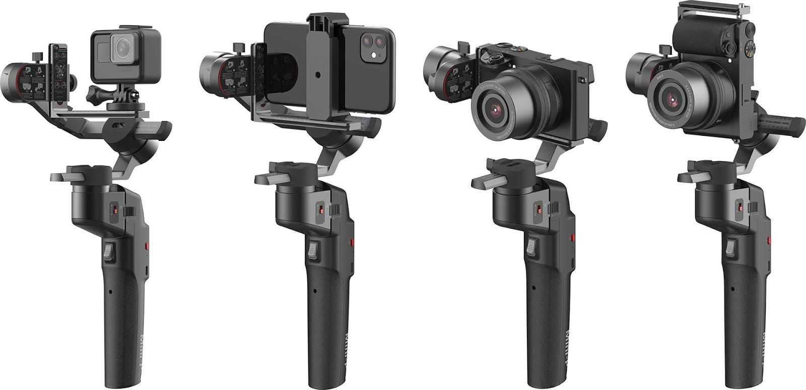 Moza Mini-P для съемки с разными устройствами