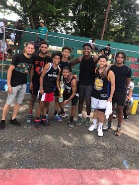 Sector San Martín campeón torneo barrial de baloncesto U19 copa Periódico El Regional