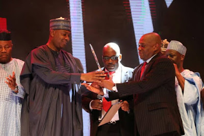 Saraki Wins Sun's Outstanding Politician Of The Year Award