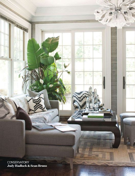 Through the Front Door: 3 tips for decorating with plants