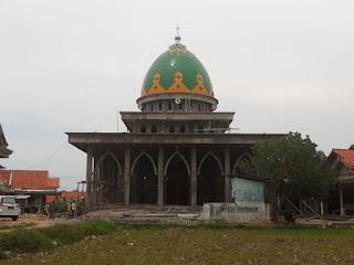 kubah masjid galvalum/cahyo utomo kubah