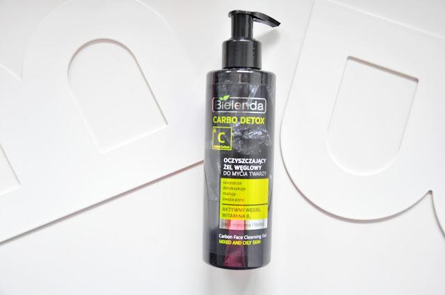 żel do mycia twarzy bielenda carbo detox