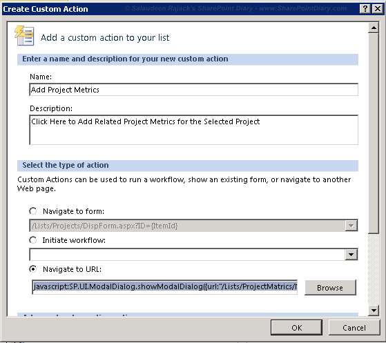 sharepoint list newform query string