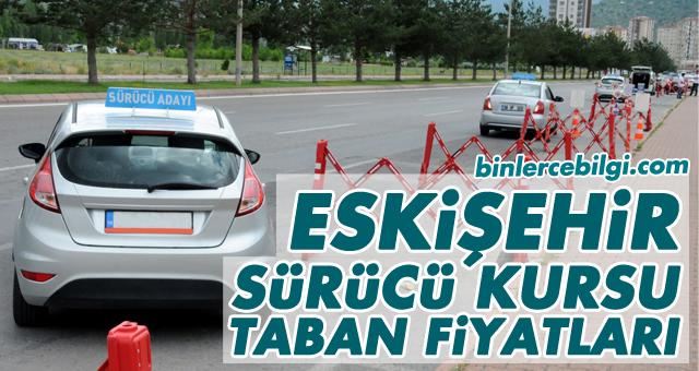 Eskişehir Sürücü Kursu Fiyatları, Eskişehir'de uygulanan 2021 yılı ehliyet taban fiyat listesi.