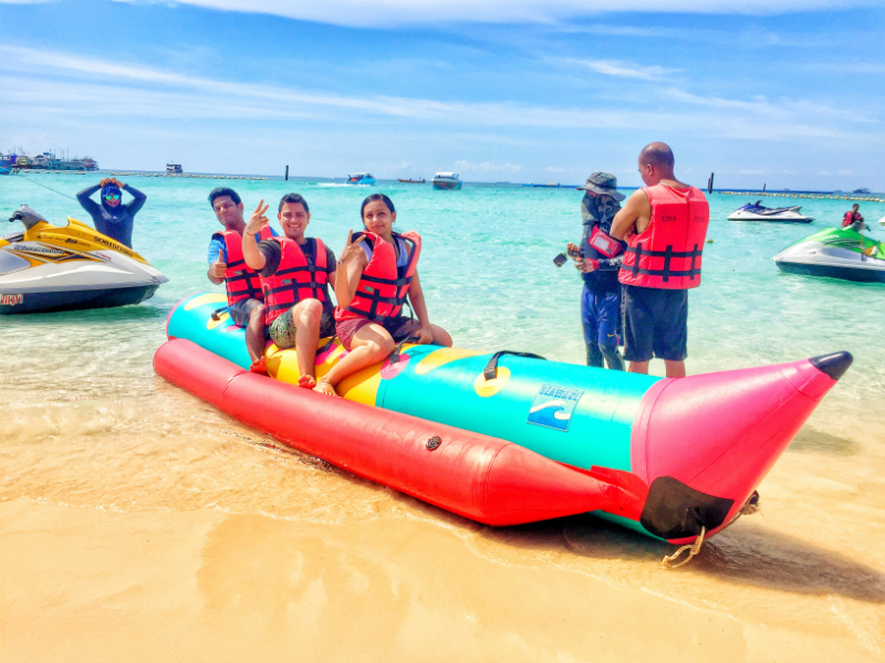 Banana Boat Ride in Pattaya