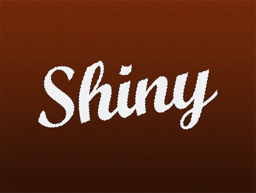 Create Shiny Text Effect In Photoshop