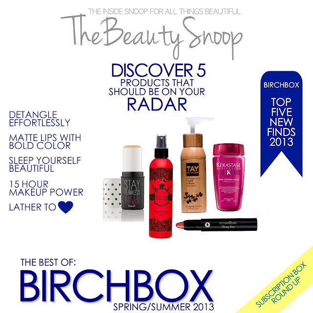 Birchbox products, Benneift, Tay, Kerastase, Mirenesse, Beauty Protector