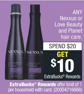 FREE Nexxus Restoring Conditioner CVS Deal 11/17-11/23