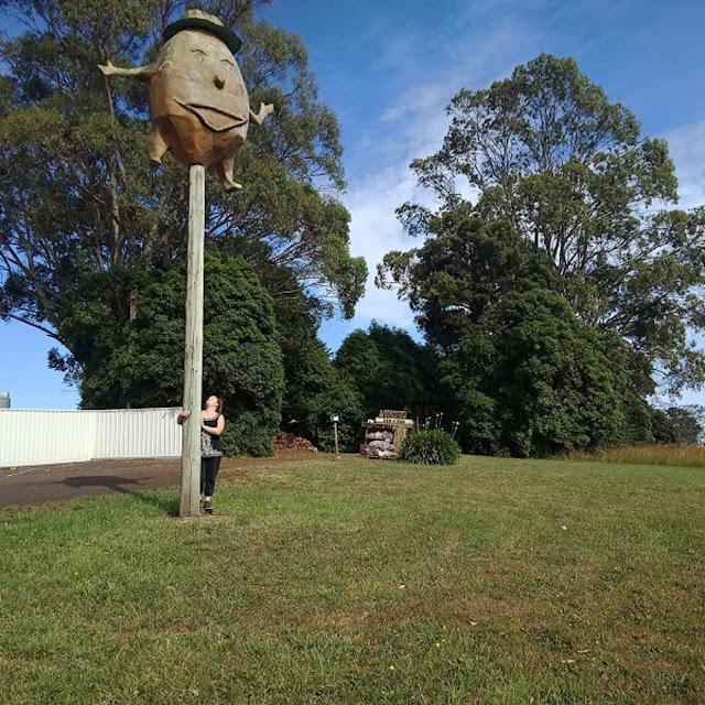 The BIG Potato in Sassafras   BIG Things Tasmania