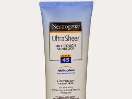 [Review] Neutrogena Ultra Sheer Dry-Touch Sunblock SPF 45