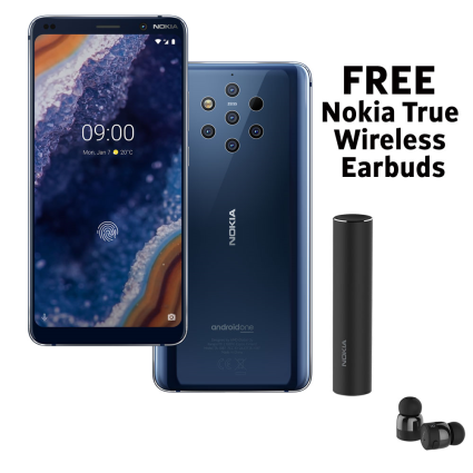 Pre-order the Nokia 9 PureView in the UK and get Nokia True Wireless Earbuds for free
