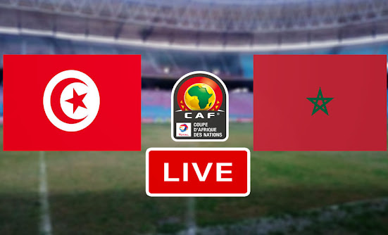 Match Tunisie vs Maroc CAN U20 live streaming