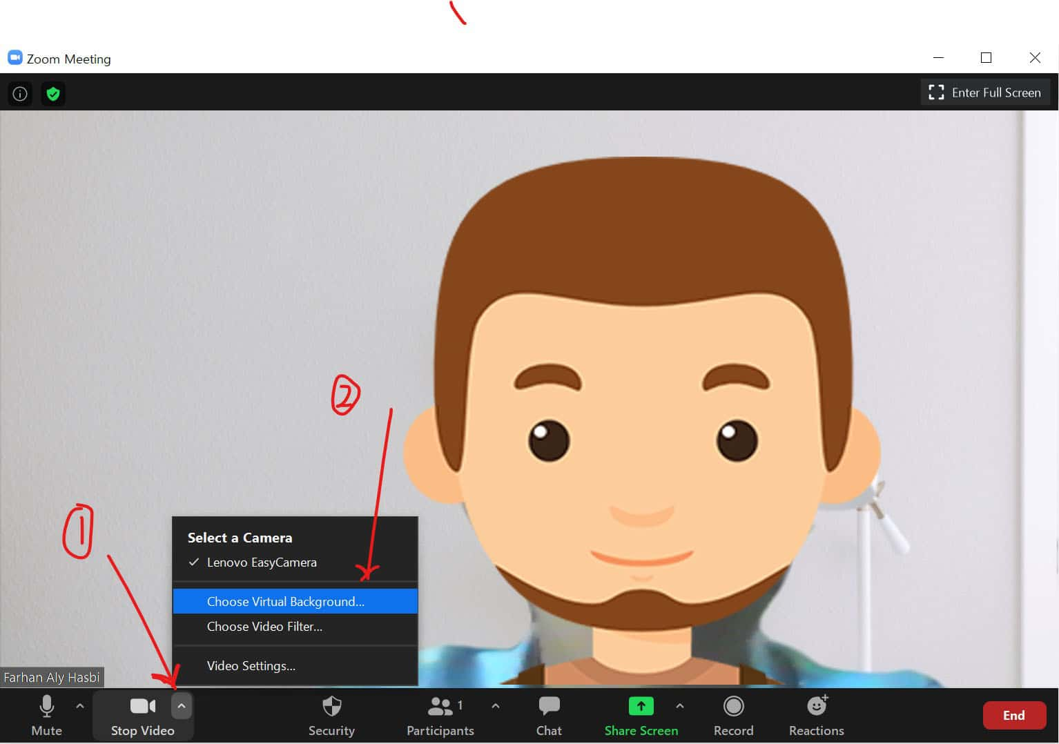 Cara Mengganti Background Zoom Meeting Di Laptop Dan Hp