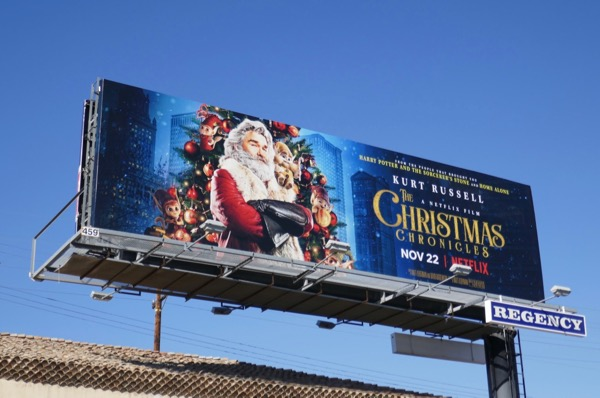 Christmas Chronicles Netflix billboard