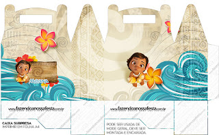 Moana Baby Free Printable Lunch Box,