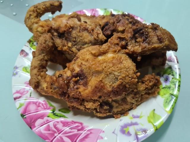 Rangka Ayam Goreng Nenas Crispy