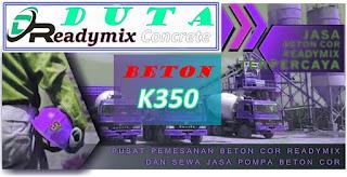 Harga Readymix K350