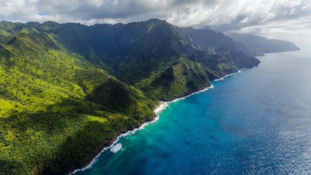 Pantai Hanakapiai Hawaii
