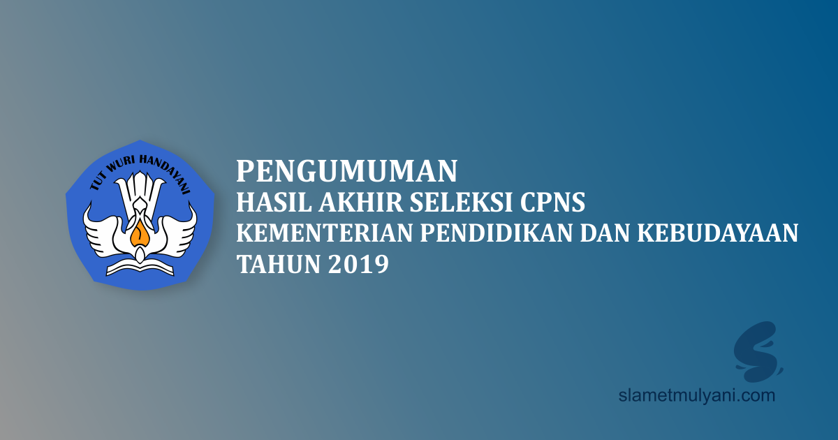cpns kemendikbud 2019