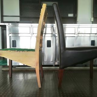 レストランの椅子をDIY|ゲストハウスでDIY事例