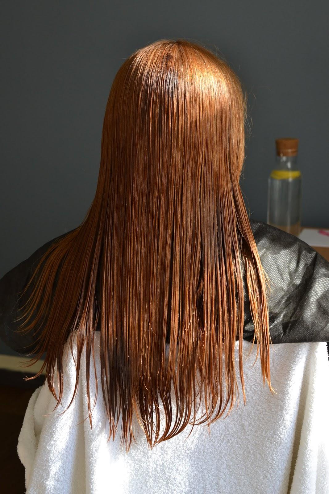 olejowanie suchych włosów