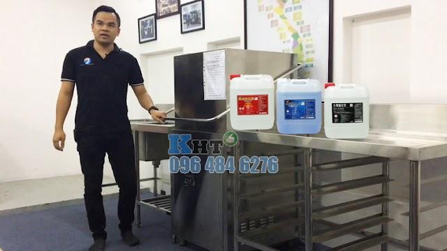 3 hóa chất cho máy rửa bát công nghiệp | Chuyên dụng - Đậm đặc - Siêu tiết kiệm