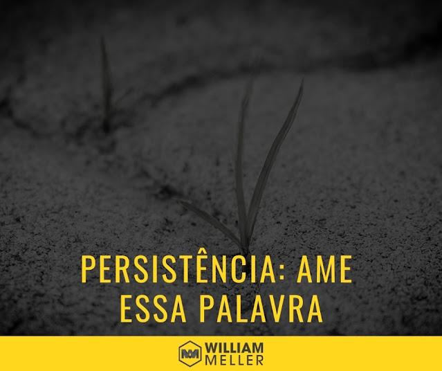 Persistência – Ame essa palavra