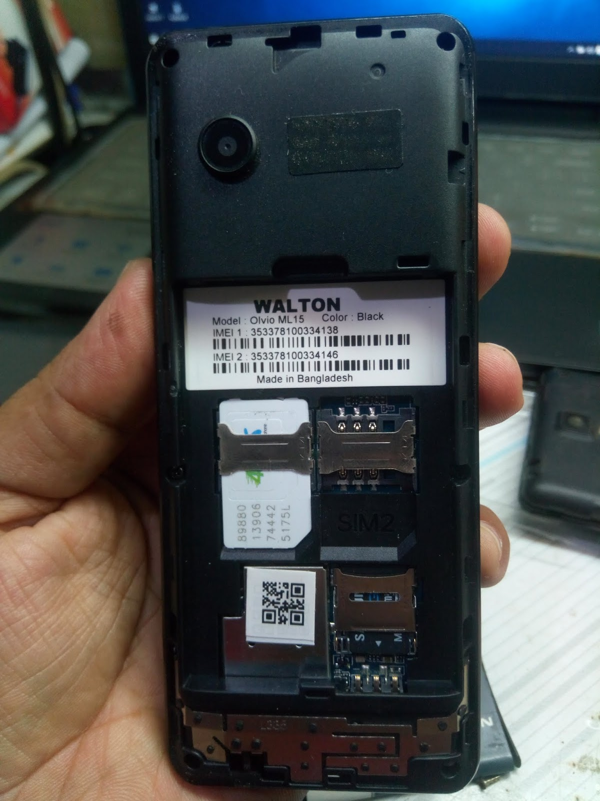 maevatelecom: WALTON ML15 FLASH FILE MT6261 100% OK TESTED