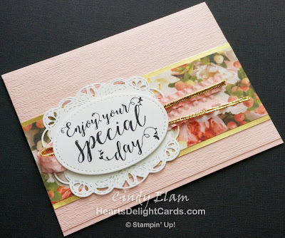 Heart's Delight Cards, Stitched All Around, Petal Promenade, Stampin' Up!