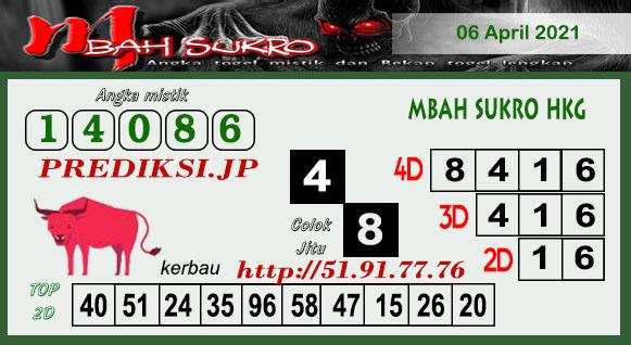 Syair HK Selasa 06 April 2021 -