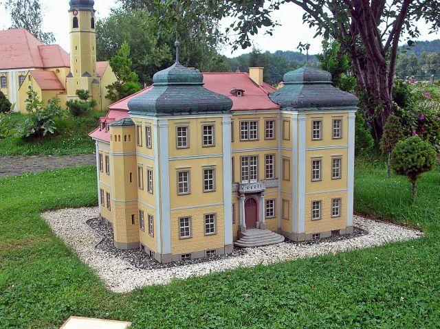 pałace, zabytki, miniatury, Kowary, Dolny Śląsk