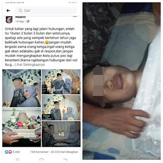 Gadis belia tewas Gantung Diri Karena Putus Dengan Pacar nya Surat Wasiat Indah Bikin Merinding