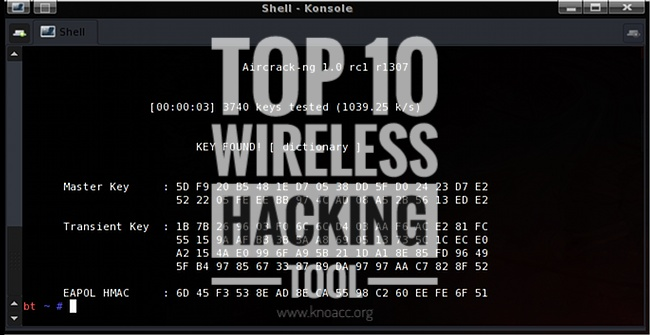 Top 10 Wifi Hacking Tools
